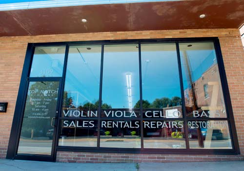 Photo of our Maplewood Music Storefront